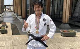 日本ベテランズ国際柔道大会優勝
